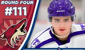 Arizona Coyotes sever ties with top draft pick Mitchell Miller