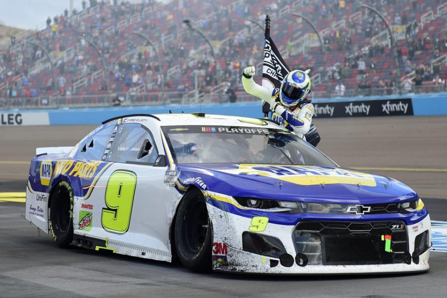 Chase Elliott winning his first NASCAR Cup Championship.
